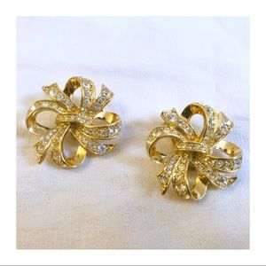 Kenneth Jay Lane NIB Vintage Bow Earrings 💕